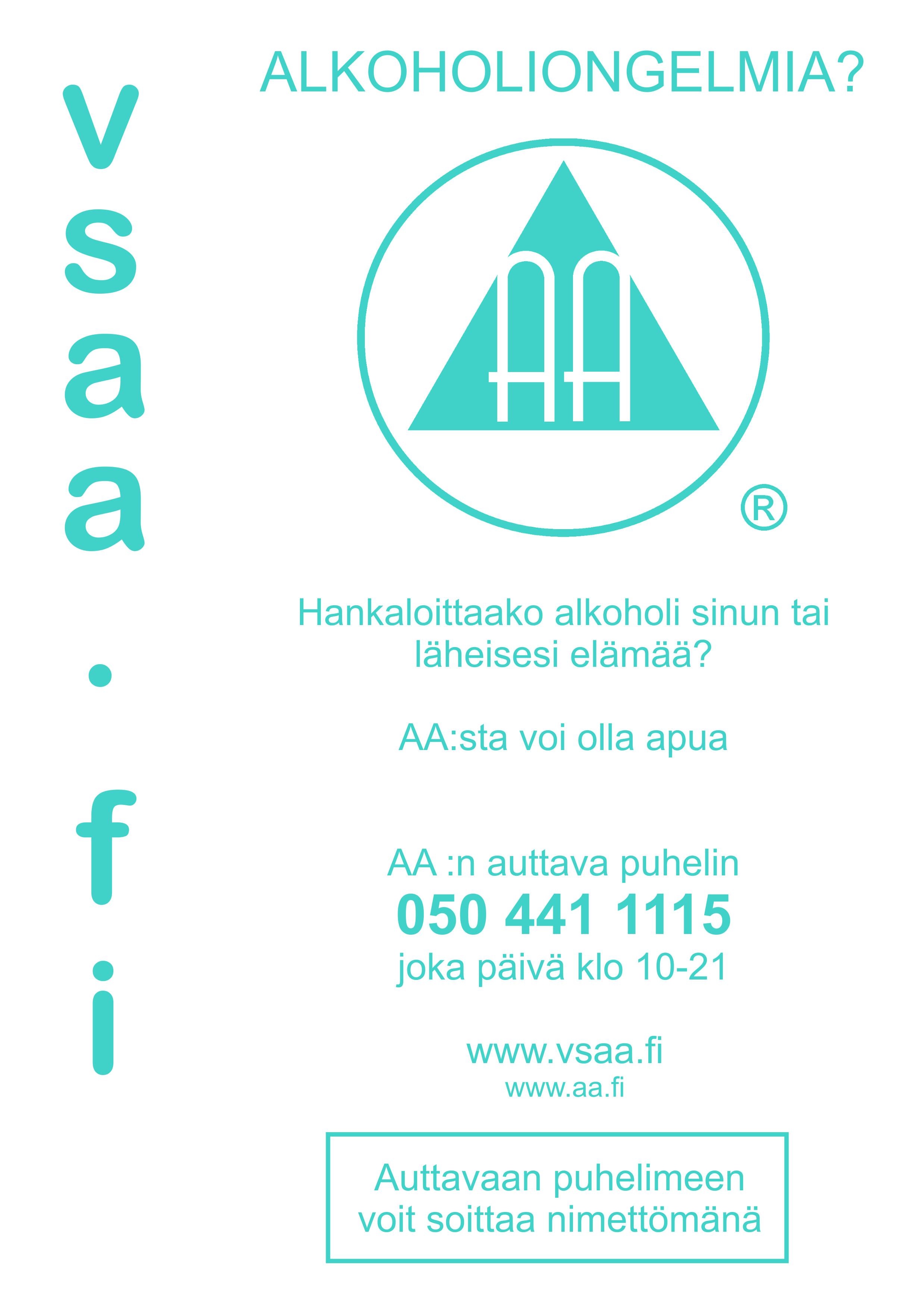 apua alkoholiongelmaan Akaa
